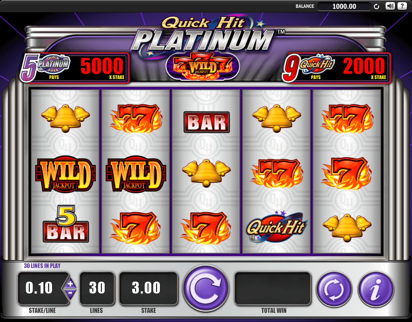 Quick Shot Slots - Review and Free Online Game