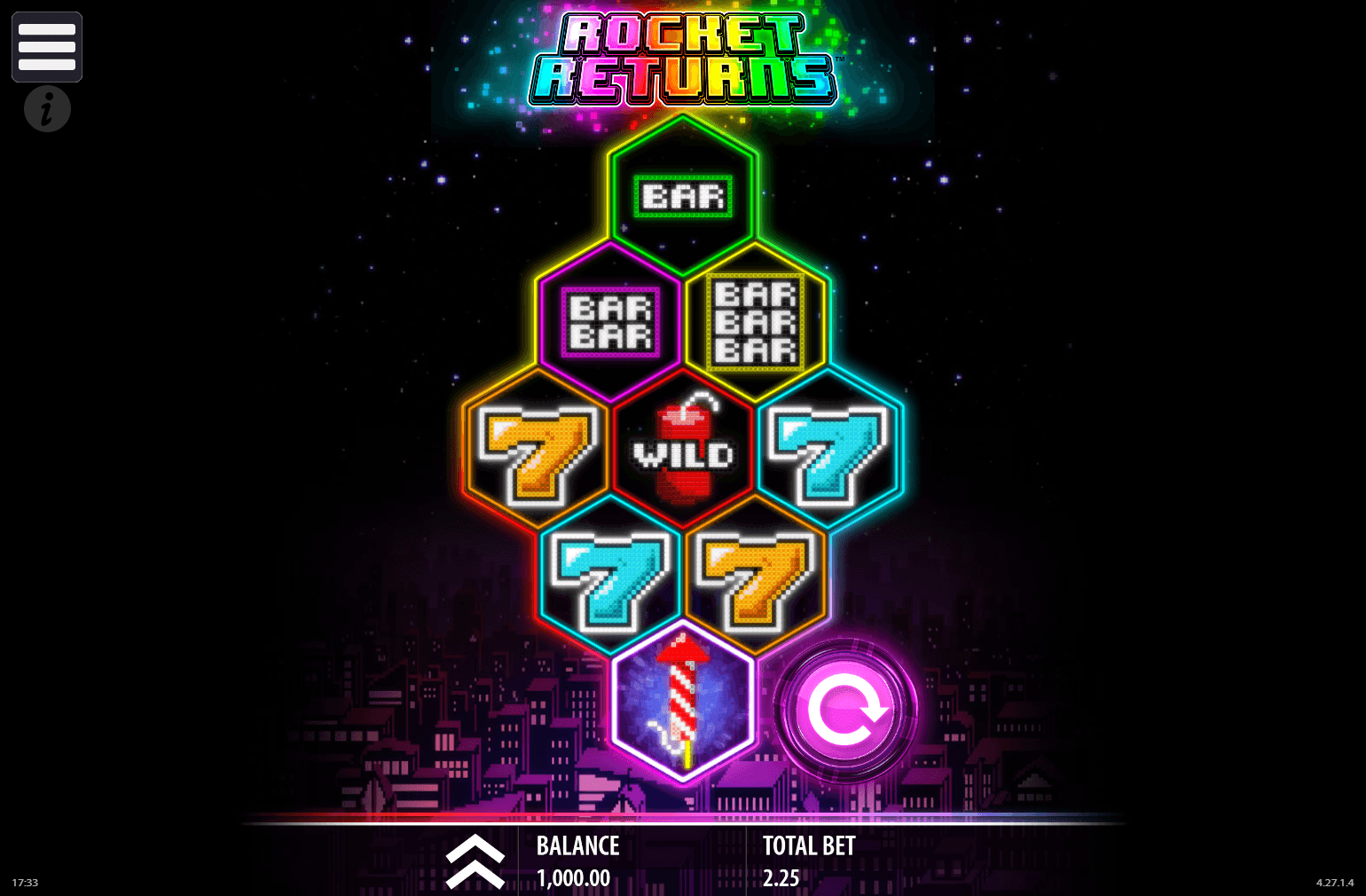 Rocket Returns - Rizk Casino