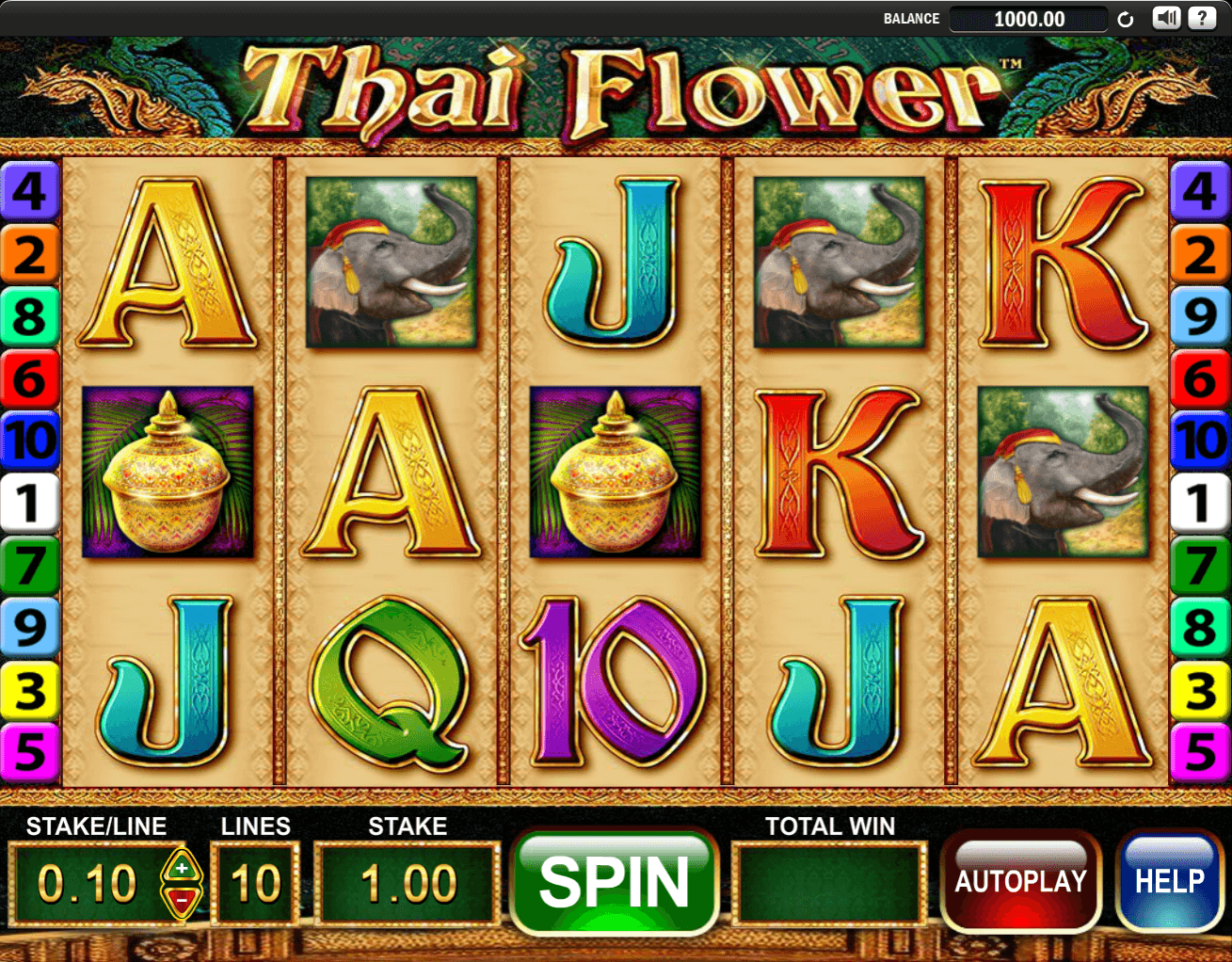 Thai flower slot review game screenshot izmirmasajfo