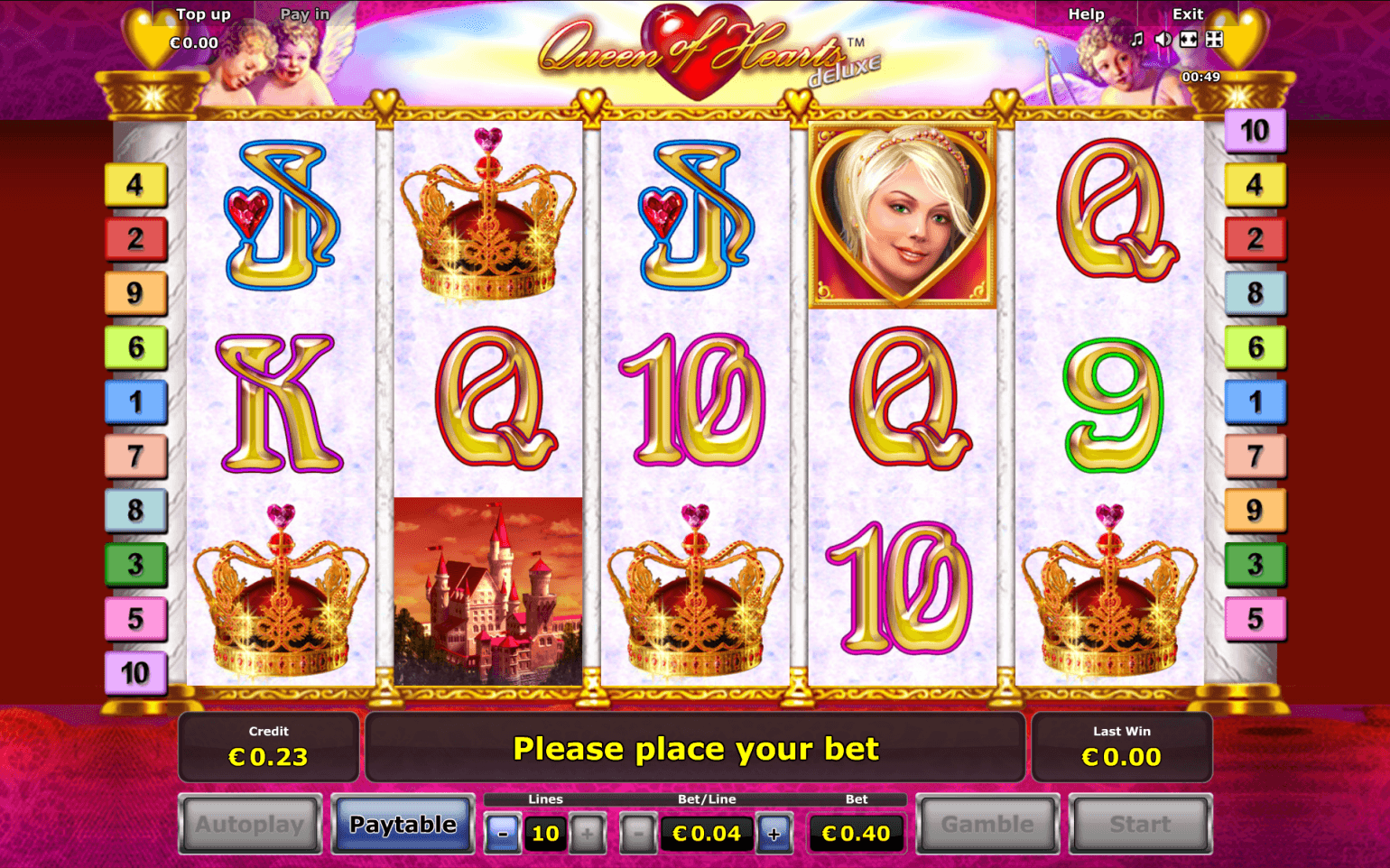 Free Slot Queen Of Hearts