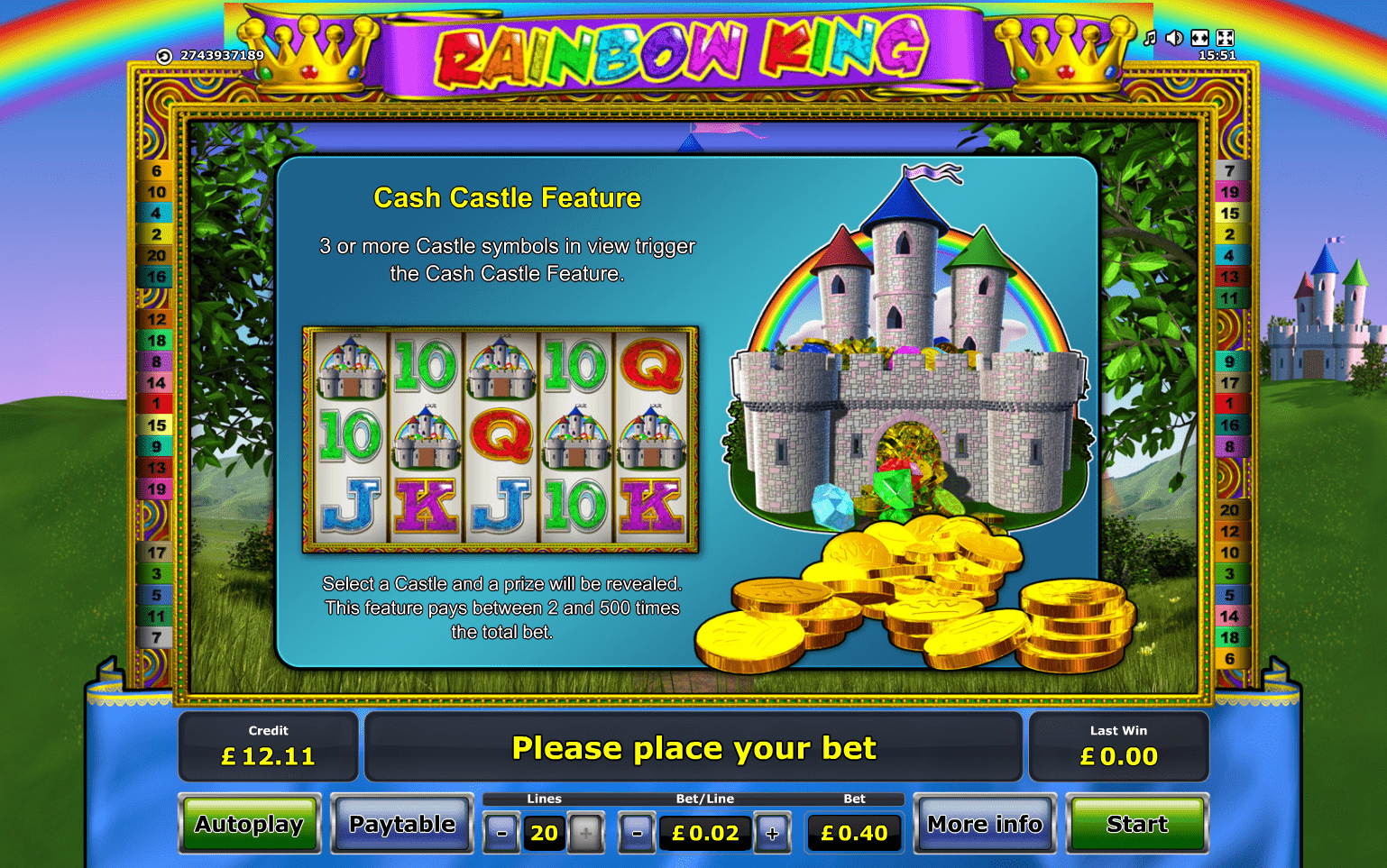 online casino sites rainbow king