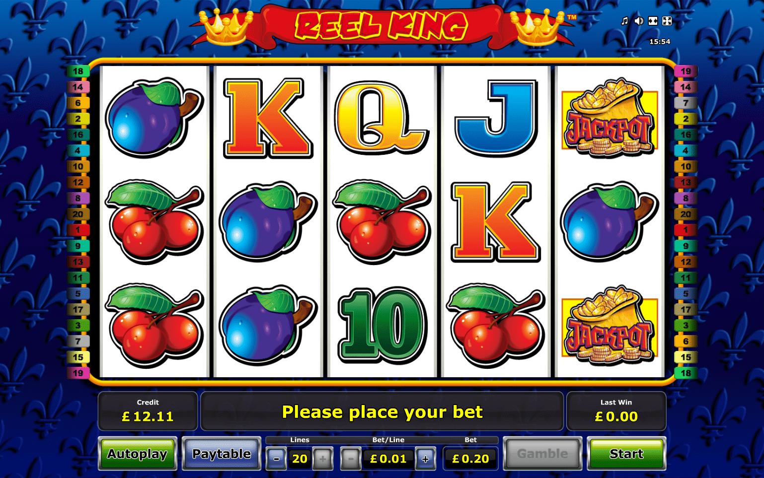 4 Reel King Slot Machine