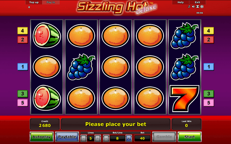 Slot Osfera Sizzling Hot