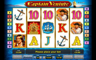 Captain Venture Slot Review