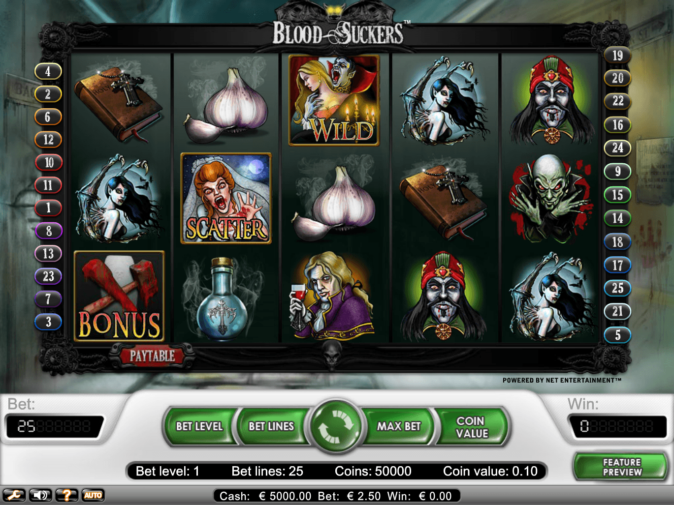Blood Suckers | Slots | Mr Green