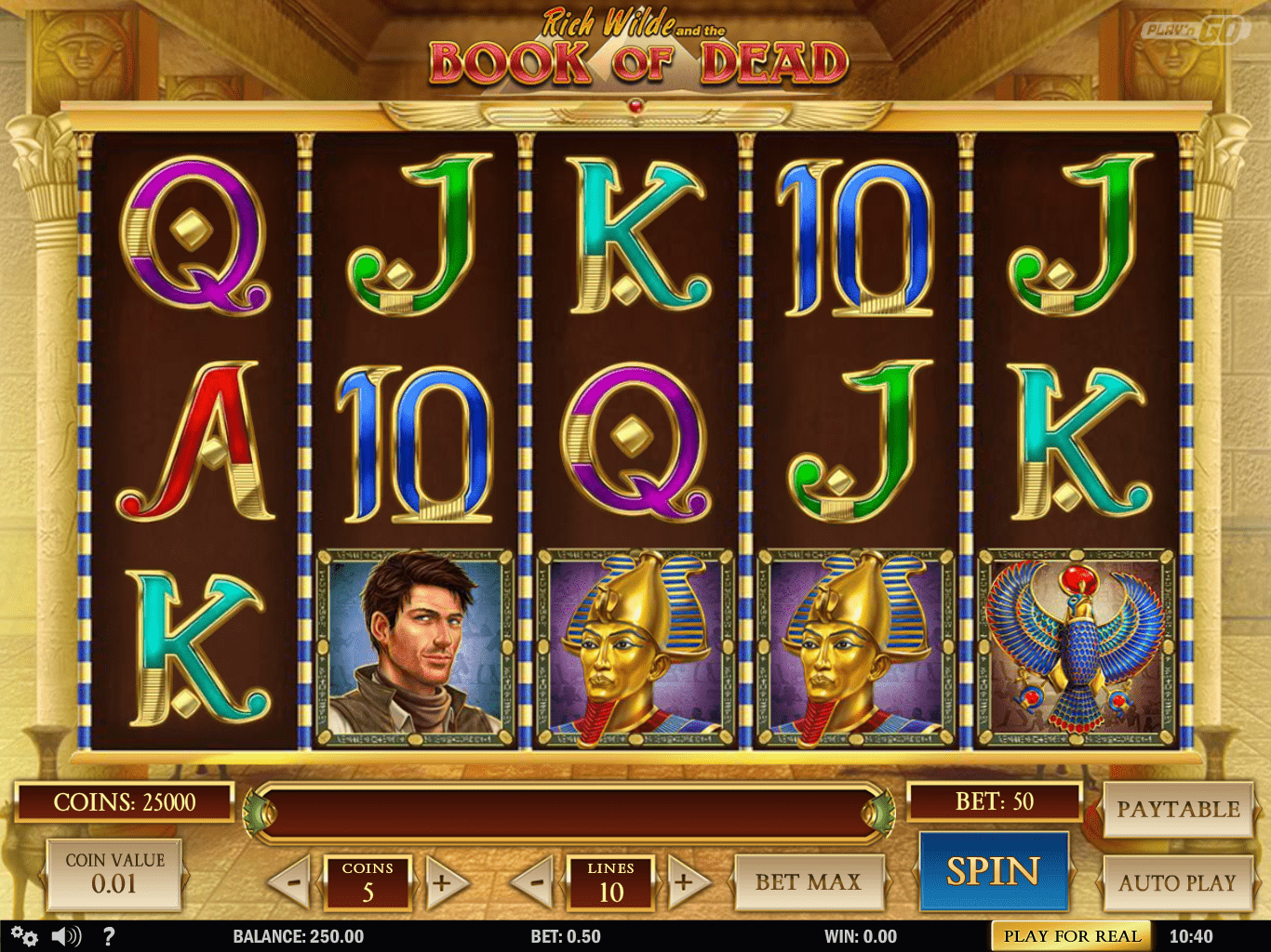 Book Of Dead Online Casino
