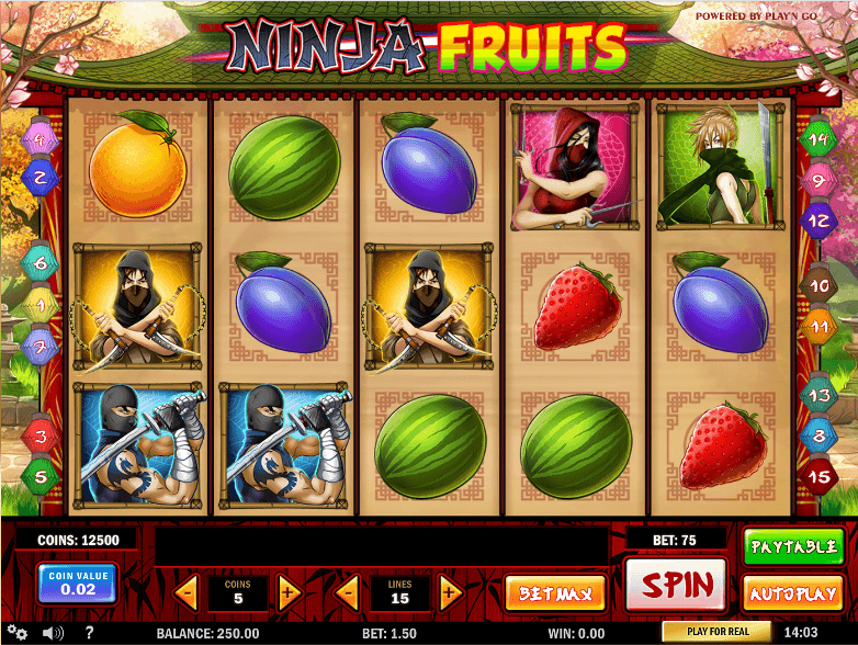 Fruit slot machine name picker / Sac a roulette tiger