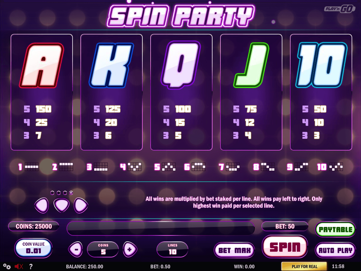 Play Spin & Win Slots From Play N Go Free On This Page