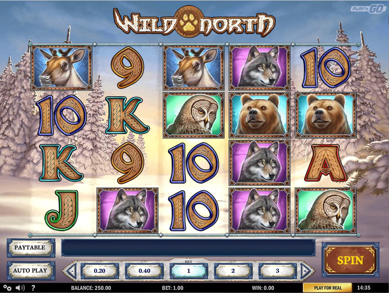 Wild North Slot Machine