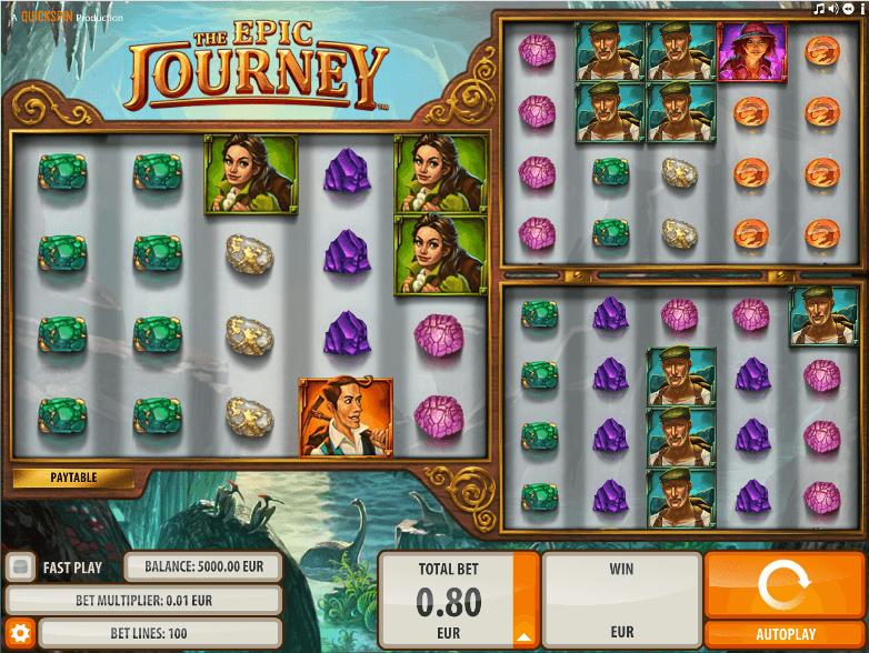 the epic journey casino