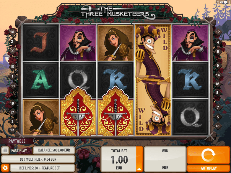 The Three Musketeers Slot Machine - Read the Review Now