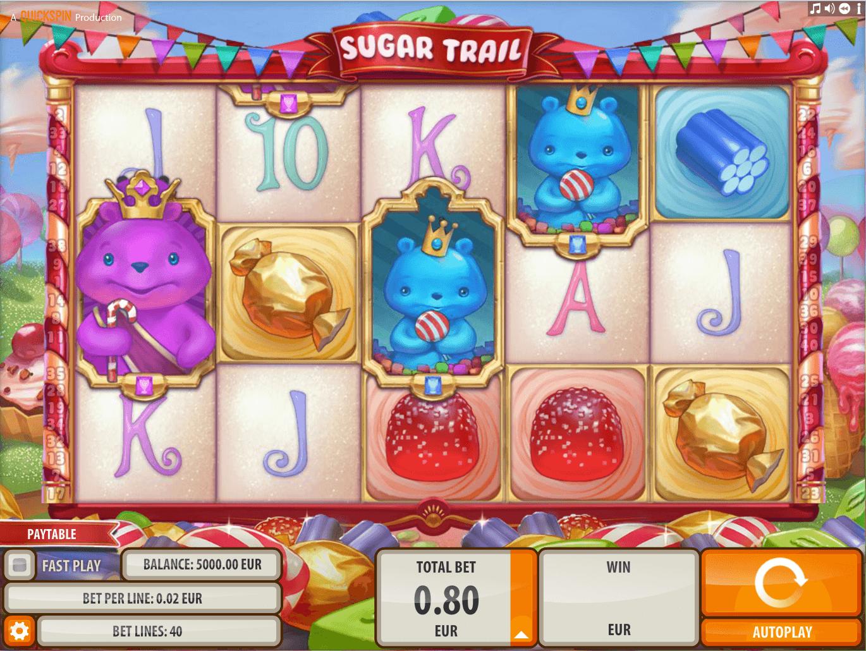 Sugar Trail Slot Machine